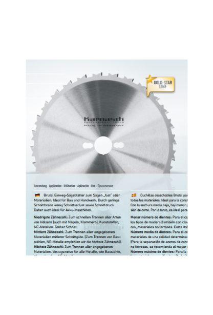 Пильные диски для УШМ