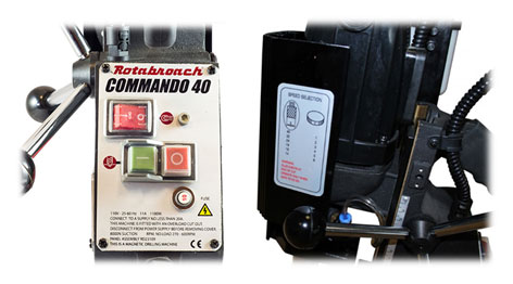 Магнитный сверлильный станок Rotabroach COMMANDO 40